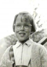 Hana asi v deseti letech, Herlíkovice 1962