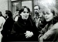 Hana s Hanou Marvanovou, Vrchlabí 1989, 1. výročí smrti Pavla Wonky