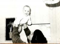 Hana se synem Janem, Vrchlabí 1980