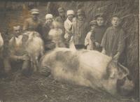 Relatives in Chresnjak in Volyn