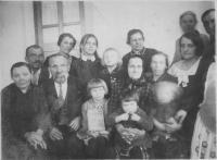 The Bešťov family from Český Malín before 1943