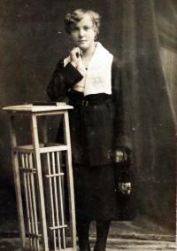 Mother of Marie Kratochvílová