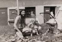 Zdeněk Buk (vlevo) s kamarádkou