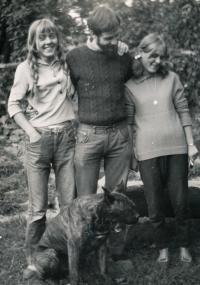 1970 Anežka, Mirek, Vendulka