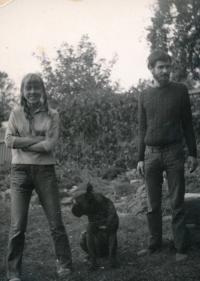 Anežka and Mirek 1970