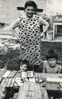 Pavel Dias s matkou Věrou