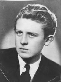 Karel Linhart as a young man