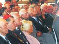 Karel Linhart  - ceremonial gathering of the Club of Political Prisoners at the Prague Castle
