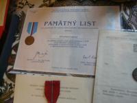 Medals and honors