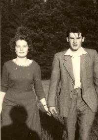 Edeltraud Slabáková with her husband Miroslav