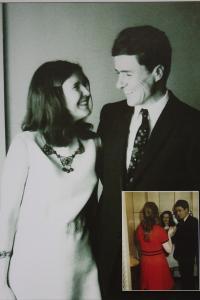 Newly married couple Rybáčkovi 30. 5. 1970 New York
