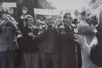 1. 6. 1969 - Members of KAN