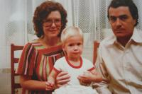Jan James first birthday - 27. 10. 1980