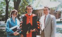Princeton Graduation (PhD) of Michael Kraus, close family friend - 1986