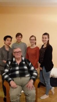 Students with Ivan Kosenko