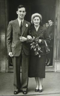 Wedding photo 1947