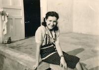 Lotte Lebovičová (Budapest, after 1942)