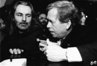 With President Václav Havel