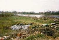 Mine field by the Sava river