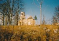 Destroyed church in Bosanska Krupa