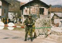On watch in Bosanska Krupa