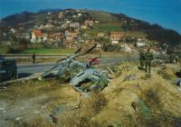 Accident of Czech helicopter