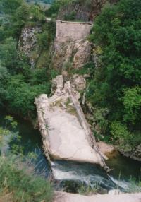 Bridge leading to Banja Luka