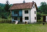Serbian house marked by Bosniaks