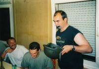 Drinking to receiving medals, 1998