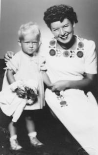 Olga s dcerou Zuzanou