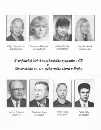 Mirko a Olga Schmidtovi ve společnosti věřících