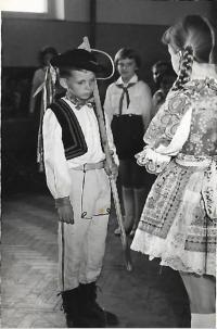 Miroslav Farkaš as a child
