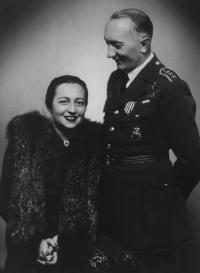 Eliška Hamšík and Josef Hamšík