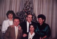 Christmas in Canada / Dagmar Hamšíková and Ladislav Husárek (from left)