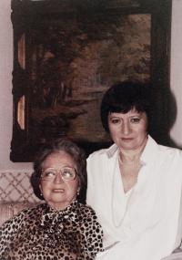 Eliška Hamšíková and Dagmar Hamšíková