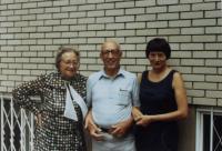 Eliška Hamšíková, Dagmar Hamšíková and friend