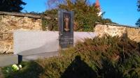 Former grave of Catholics murdered in Leskovice, located in Nová Cerekva