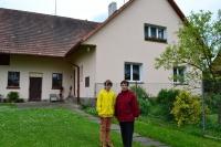 Photo with Mrs. Holakovská