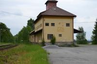 Railway station where the gun-machine was placed