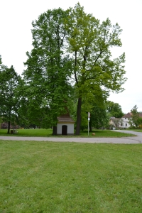 Picturesque chapel in today's village square