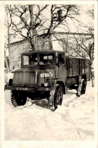 Truck Tatra 128 belonging to the state farm, the truck was driven by Josef Horký for a few years