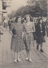 mother and grandmother 1949