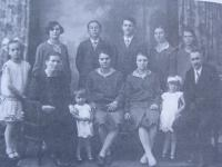 Sister Teodora with her family