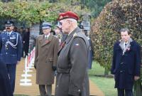 Tomáš Sedláček at Remebrance Day at Olšany War Cemetary