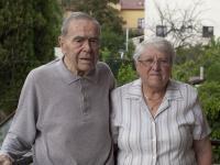 With her husband Bohuslav (2011)