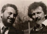 S Dušanom Dušekom, sedemdesiate roky