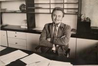 V redakcii Slovenského spisovateľa, prvá polovica 80. rokov