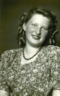 Marie Polanska before the WWII