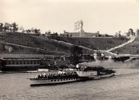 Steamer on the Vltava, photo by Jaroslav Ermis