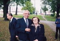 Jaroslav Ermis a Krista Lehertová, 2007